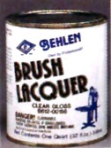 Behlen Brushing Lacquer