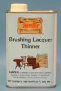 Behlen Brushing Lacquer Thinner