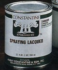 Spraying Lacquer