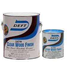 Deft Clear Wood Finish