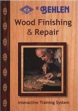 Wood Finishing and Repair dvd