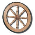 Tea Cart Wheel