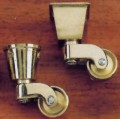 Brass Casters