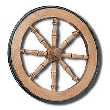 Tea Cart Wheel