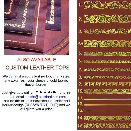 Superieur Leather Tops
